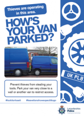 Van owners urged to remove tools overnight