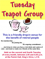 Tuesday Teapot Group